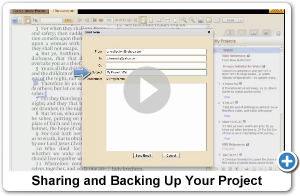 Saving and Backing Up your Project